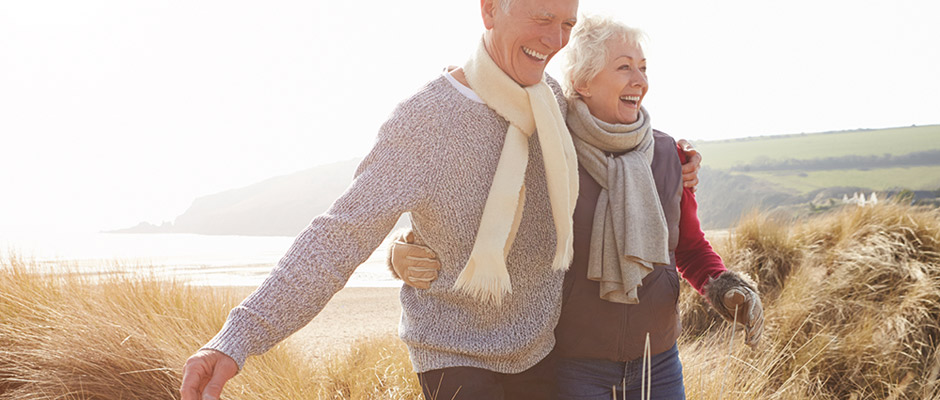 Senior Guide Active Living will help you enjoy A Day Walking on the Beach in the Fall